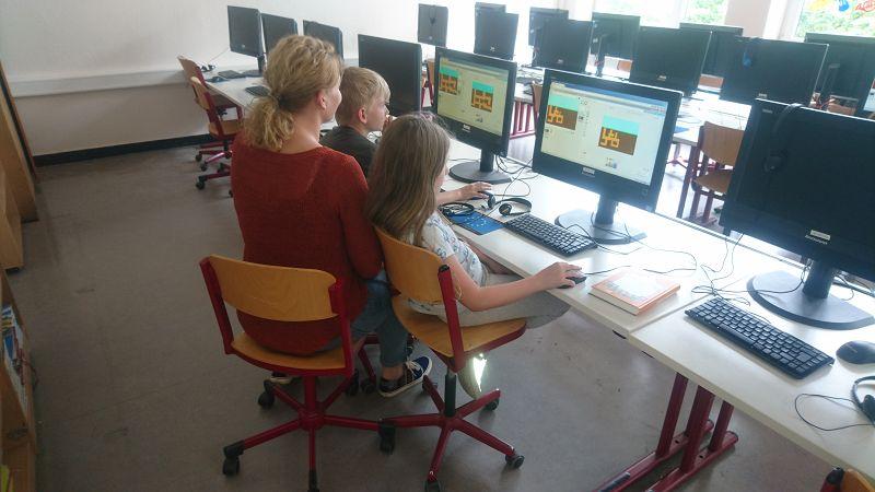 erste computer in der schule